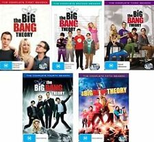 THE BIG BANG THEORY : SEASON 1 - 5 : NEW DVD
