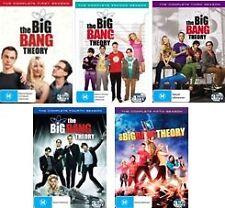 THE BIG BANG THEORY : SEASON 1 - 5 : NEW DVD