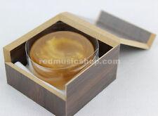 Quality rosin #8001, containing gold powder, wooden box, for Violin,Viola,Cello