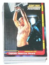 . Star Trek TNG The Next Generation Profiles by Skybox in 2000. 82 card base set