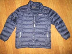 Boys PATAGONIA Down insulated jacket coat sz XS 5 - 6