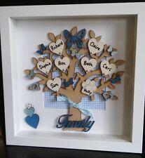 Personalised family tree frame - Lovely keepsake - made to order