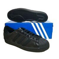 adidas Superstar 80s Recon Triple Black Shell Toe EE7391 Sneakers Multiple Sizes