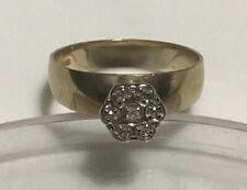 10k Plumb Gold Diamond Ring