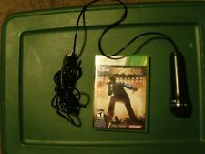 Def Jam Rapstar (Microsoft Xbox 360, 2010) Including Microphone *Tested*