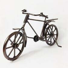 "7"" Retro Handmade Iron Bicycle model metal art decoration Ornaments sculpture"