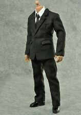 ZY TOYS 1/6 Men in Black Suit for Narrow Shoulder Body Shirt Hot Logan Wolverine