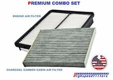 COMBO Air Filter CHARCOAL Cabin Air filter For 2011 - 2015 HYUNDAI Sonata HYBRID