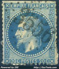 FRANCE EMPIRE N° 29 OBLITÉRATION GC 3556 ST COLOMBE SUR L'HERS AUDE A VOIR