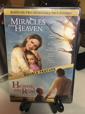 Miracles From Heaven / Heaven is for Real Brand New DVD Double Feature Free Ship