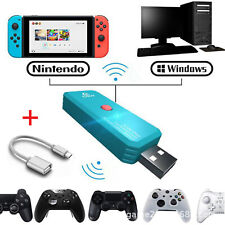 USB Wireless Bluetooth Adapter Recevier For Nintendo Switch PS4 Xbox Controller