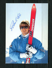 PK Michael Eder Autogramm, Skifahrer 8. mal Champion Weltcup(AA1)