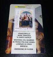 Tessera filatelica Il Santo Natale 2006