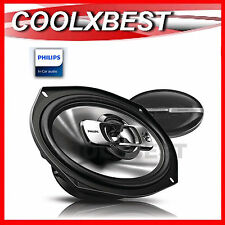 "NEW PAIR PHILIPS 6x9"" COAXIAL 3-WAY CAR SPEAKER PEI TWEETER 300W CSP6911"