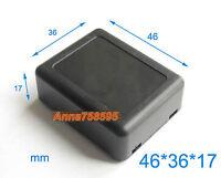 5 pcs DIY Black 46x36x17mm New Black Plastic Project Box Electronic Case