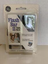 GE Flash Bar II Twin Pack for Polaroid SX-70 film camera