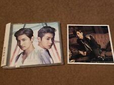 Tohoshinki TVXQ - TIME - Type C CD with Changmin Photocard