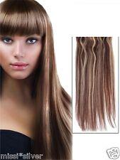 Deluxe due colori flip in 's * capelli rinnovo elastico Extensions * 60 cm