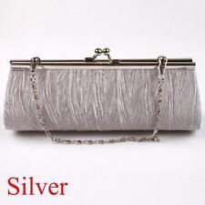 Wedding Club Pleated Handbag Purse Clutch Evening Bag