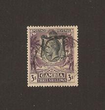 GAMBIA 1922/9 SG 139 USED Cat £450 . CERT