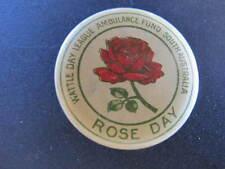 WW2 circa Rose Day Badge Wattle Day Ambulance
