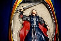 LORD OF THE RINGS RETURN KING ARAGORN SUPER POSEABLE ACTION FIGURE TOYBIZ 2003