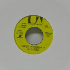 "DARTS 'DADDY COOL THE GIRL CAN'T HELP IT (STEREO)' US IMPORT 7"" SINGLE PROMO"