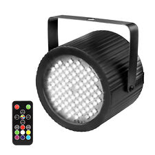 Strobe Lights RGB LED Sound-Active Adjustable Flash Rate with Remote Control