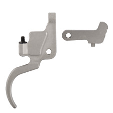 Timney Trigger for Ruger  M77 Mk II  and Scout - Right Hand Nickel Plated  #1100
