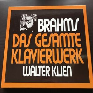 VEAHMS-DAS GESAMTE KLAVIERWERK 6 LP BOX WALTER KLIEN B701