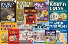 Krause 2015 Catalogs - 5 World Coins 3 World Paper Money + 16 Bonus Catalogs