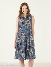 * SALE * NOMADS fair trade RETRO vintage 50's SLEEVELESS shirt DRESS BNWT MA27