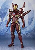 BANDAI S.H.Figuarts Iron Man Mark 50 Nano Weapon Set 2 Avengers End Game Figure