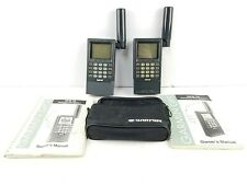 Garmin GPS 75 Personal Satellite Marine Navigator w/ Case & Manual, Lot of 2