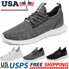 Men's Outdoor Casual Athletic Sneakers Running Walking Tennis Jogging Shoes Gym