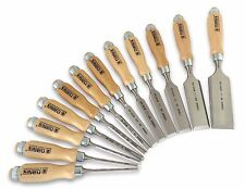 Narex (Made in Czech Republic) 12 Pc Chisel Set European Beech Handles 810103-50