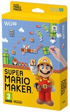 Super Mario Maker + Artbook Nintendo WII U IT IMPORT NINTENDO