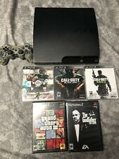 Sony PlayStation 3 (CECH-2501A) PS3 160 GB-Good Condition bundled games