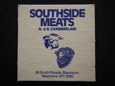 SOUTHSIDE MEATS N. & B. CHAMBERLAIN 96 SOUTH PDE BLACKBURN 8772085 COASTER