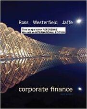 Corporate Finance by Jeffrey Jaffe, Stephen A. Ross Randolph(Int E Paperback)10e