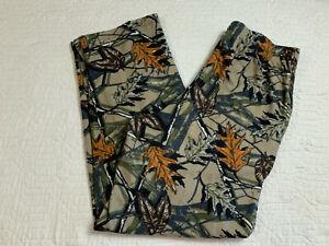 Fruit Of The Loom Camouflage Sleepwear Pants Men Size Medium