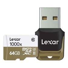 Lexar Media 64GB Professional 1000x microSDXC UHS-II Card