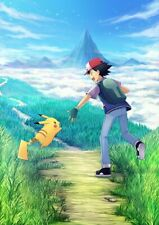 Pokemon Pikachu Anime Mange Cartoon A4 Size Wall Poster Print Art