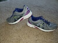 New Balance Women's 450v3 Gray Athletic Running Shoes W450GV3 Size 9.5 Sneakers