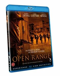 Open Range (2003) Robert Duvall Kevin Costner Blu-Ray BRAND NEW (USA Compatible)