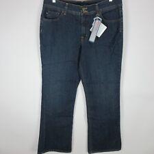 BANDOLINOBLU ARIANNA Size 16  36 x 33 Bootcut Dark Wash Jeans Denim Flap Pockets