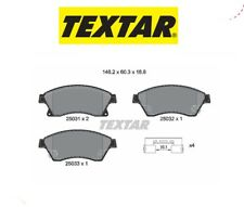 2503101 Kit pastiglie freno, Freno a disco (TEXTAR)