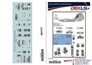 1/72 Decals - C-130E / C-130H / C-130J  DEKL's II