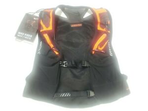 Nike Kiger Running Vest Black/Orange Trail Running Vest Size Small
