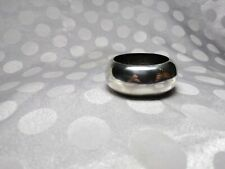 Nice Wallace Sterling Round Ring Band Napkin Ring # 46